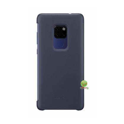 Huawei Mate 20 Smart View Flip Cover Deep Blue