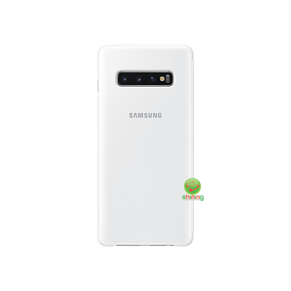 "SME (O) CLEAR VIEW COVER GALAXY S10+ 6.4"" WHITE"