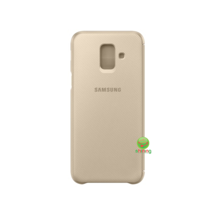 SME (O) WALLET COVER GALAXY A6 (2018) GOLD