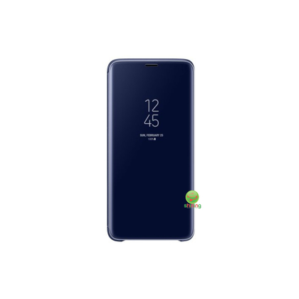 SME (O) CLEAR VIEW STANDING COVER GALAXY S9 PLUS BLUE
