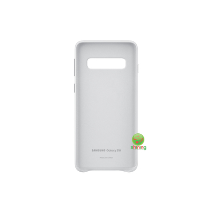 """SME (O) LEATHER COVER GALAXY S10 6.1"""" WHITE"""