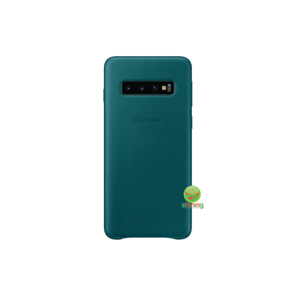 "SME (O) LEATHER COVER GALAXY S10 6.1"" GREEN"