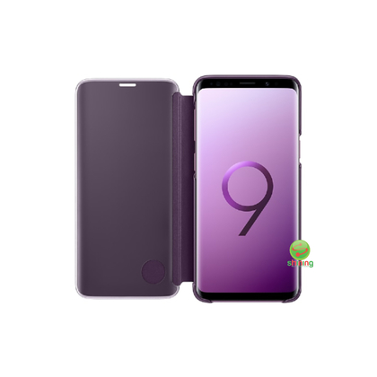 SME (O) CLEAR VIEW STANDING COVER GALAXY S9 VIOLET