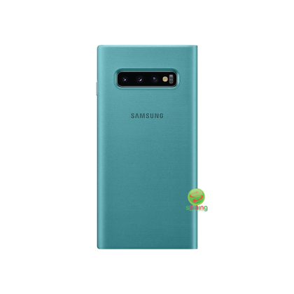 """SME (O) LED VIEW COVER GALAXY S10 6.1"""" GREEN"""