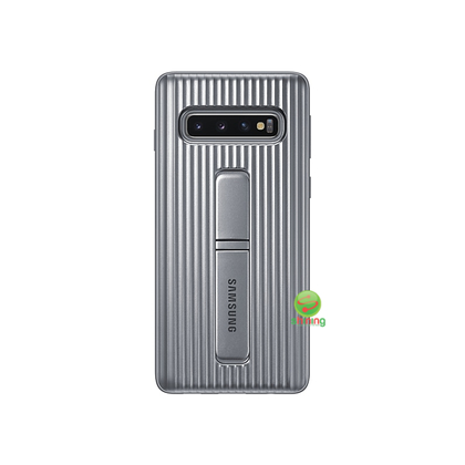 """SME (O) PROTECTIVE STANDING COVER GALAXY S10 6.1"""" SILVER"""