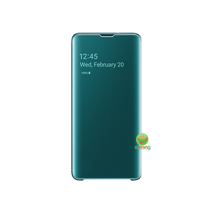 "SME (O) CLEAR VIEW COVER GALAXY S10 6.1"" GREEN"