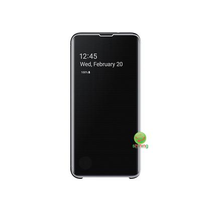 """SME (O) CLEAR VIEW COVER GALAXY S10E 5.8"""" BLACK"""