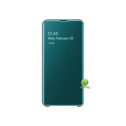 """SME (O) CLEAR VIEW COVER GALAXY S10E 5.8"""" GREEN"""