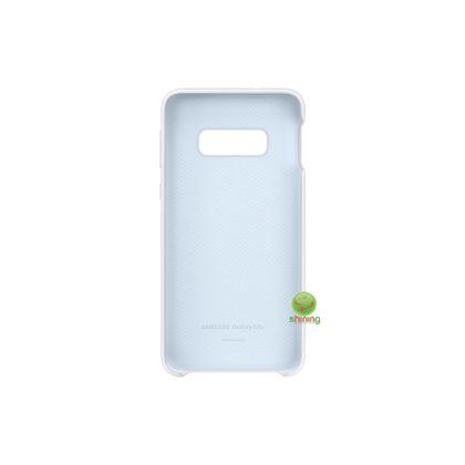 "SME (O) SILICON COVER GALAXY S10E 5.8"" WHITE"