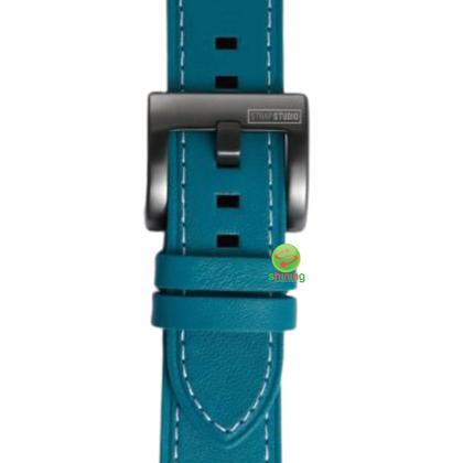 SME (O) GEAR SPORT LEATHER WATCH STRAP (BLUE)