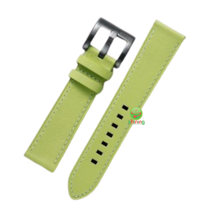 SME (O) GEAR SPORT LEATHER WATCH STRAP (OLIVE GREEN)