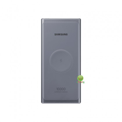 Samsung Wireless Battery Pack 10000mAh 25w with C to C Cable Gray