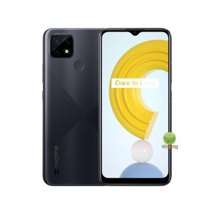 Realme C21 (RMX3201)(4GB/64GB)(Cross Black)