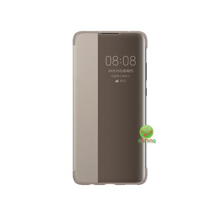 Huawei Mate 30 Pro Smart View Flip Case Brown